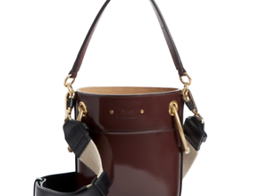 bucket bag leather